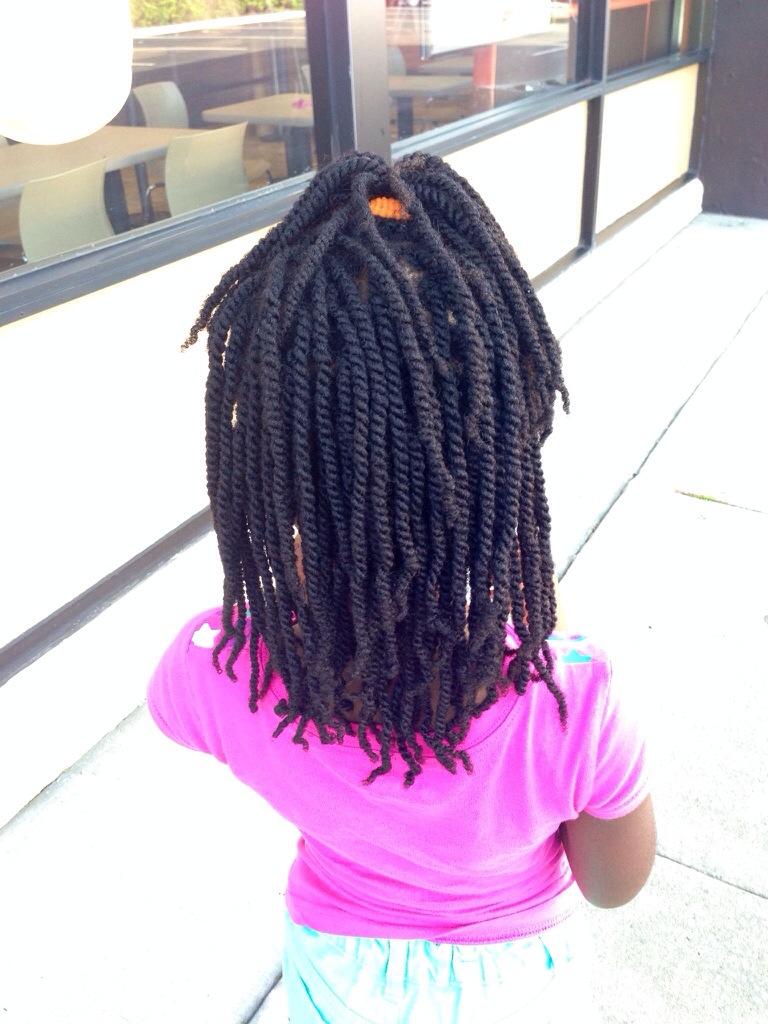 My Niece S Mini Twists Summer 2014 4b 4c Tbl Hair